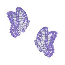 Neva Nude Pasty Butterfly Glitter Lavendar