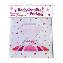 Bachelorette Diamond Ring Centerpiece
