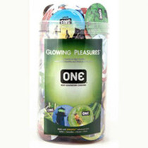 ONE Glowing Pleasure Jar (100ct)
