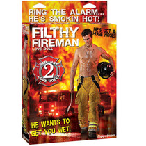Filthy Fireman Love Doll
