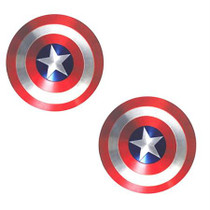 Neva Nude Pasty Captain America Shield