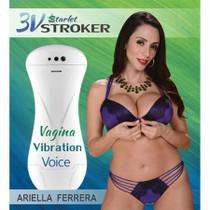 3v Talking and VibratingStarlet Stroker Ariella Ferrera