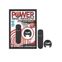 Power Ring Remote Mini Slim Bullet (Black)