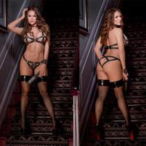 Lust Fetish Concordia S/M Black