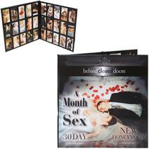 Month of Sex Honeymoon Calendar