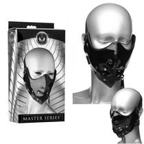 Masters Lektor Zipper Mouth Muzzle (Black)
