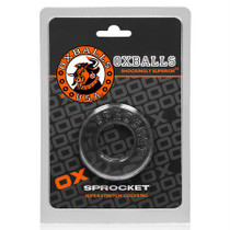 OxBalls Sprocket, Cockring, Clear