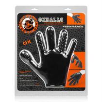 OxBalls Finger Fuck Glove, Black