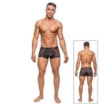 Male Power Camo Sport Net Sport Short Black Med