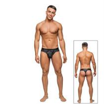 Male Power Dazzle Insert Bikini Black Sml