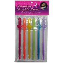 Rainbow Naughty Straws G.I.T.D.