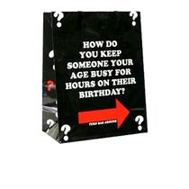 How Do You Keep Someone Your Age Busy Gift Bag