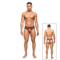 Male Power Terracotta Panel Thong Clay LX