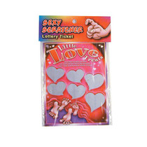 Sexy Scratcher Lottery Ticket - Little Love Treats