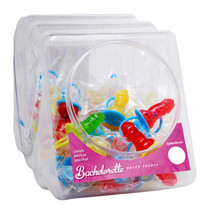 Bachelorette Party Favors Candy Pecker Pacifier (Display of 48)