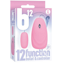 The 9's B12 Bullet 12 Function Bullet & Remote Pink