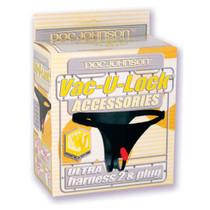 Vac-U-Lock - Ultra Harness - With Snaps Black