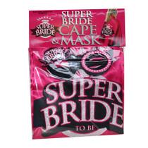 Super Bride, Cape And Mask Set