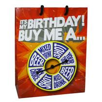 Happy Birthday Gift Bag: It's My Birthday Buy Me A Shot