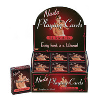 Nude Male Playing Cards (Display)