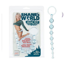 Shanes World Anal 101 Intro Beads - Blue
