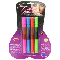 Bodylicious Edible Body Pens 4pk Assorted Flavors