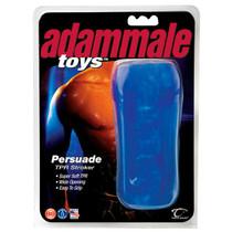 Adam Male Toys Persuade TPR Stroker (Blue)