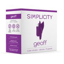 Simplicity GEOFF Bullet vibrator - Purple