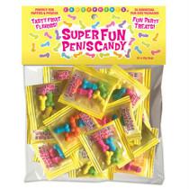 Super Fun Penis Candy, Bag Of 25