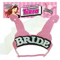 Bride-To-Be Naughty Tiara (Pink)
