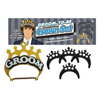 Groom-To-Be Celebration Crown Set