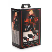 Mistress by Isabella Sinclaire Heart Gem Anal Plug Set