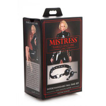 Mistress by Isabella Sinclaire Interchangeable Ball Gag Set