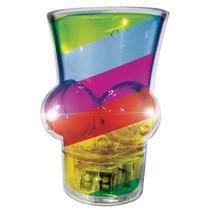 Light Up Rainbow Boobie Shot Glass