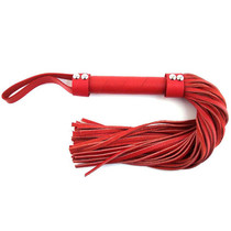 Rouge H-Style Leather Flogger Red