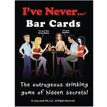 I've Never Bar Card Game (Open Stock)