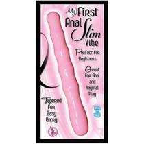 My First Anal Slim Vibe Waterproof (Pink)