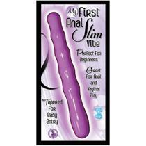 My First Anal Slim Vibe Waterproof (Purple)