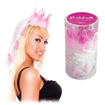 Bachelorette Party Favors Fancy Crown with Veil