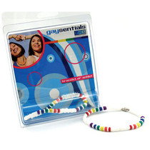 Gaysentials Rainbow Shell Bracelet