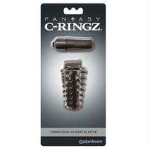 FCR - Fantasy C-Ringz Vibrating Super Sleeve Black