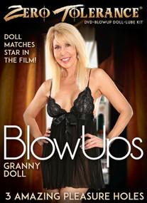 Zero Tolerance Granny Blow Up Doll W/DVD