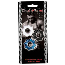 Chain Gang Cockrings 3pk (Clr,Blue,Blk)