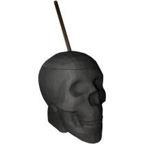 Black  Matte Skull Cup