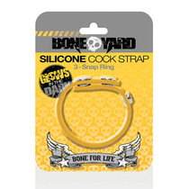 Boneyard Cock Strap Yellow