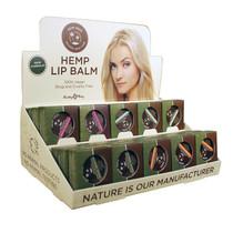 Earthly Body Hemp Lip Pot Asst DP (30pc)