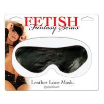 Fetish Fantasy Leather Love Mask (Black)