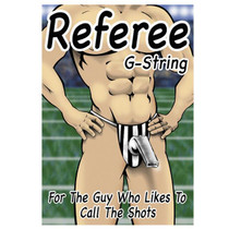 Male Power Referee G-String Underwear