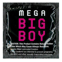 Beyond Seven Mega Big Boy Condom Single