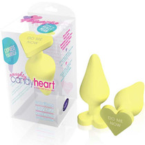 Play with Me - Naughty Candy Heart - Spank Me - Yellow